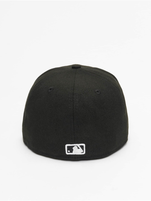 New Era Fitted Cap MLB Basic LA Dodgers 59Fifty schwarz