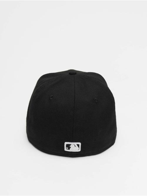 New Era Fitted Cap MLB Basic NY Yankees schwarz