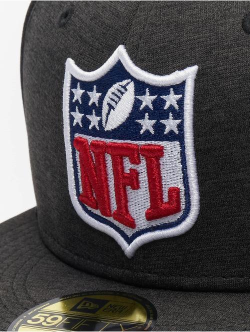 New Era Fitted Cap Shadow Tech NFL Generic Logo 59Fifty schwarz