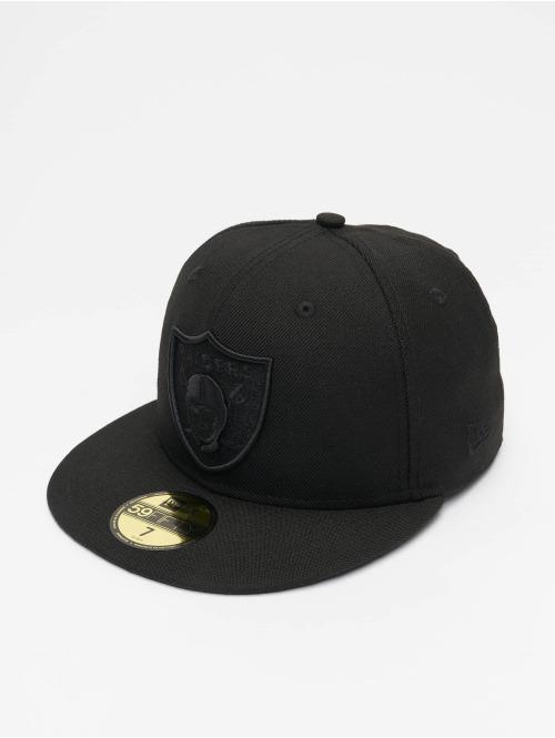New Era Fitted Cap NFL Oakland Raiders 59Fifty schwarz
