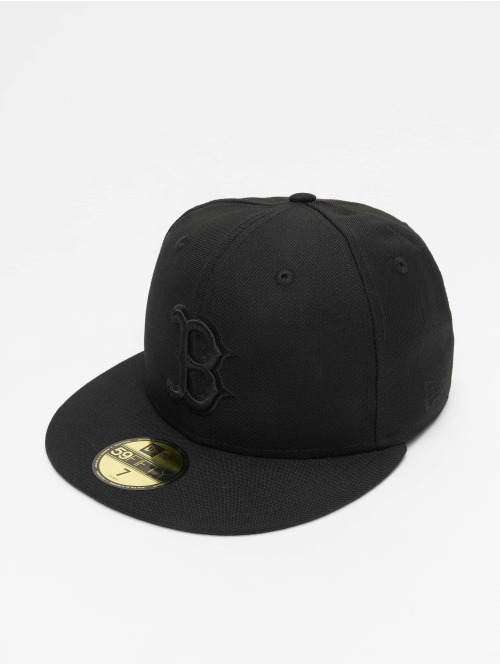 New Era Fitted Cap MLB Boston Red Sox 59Fifty schwarz