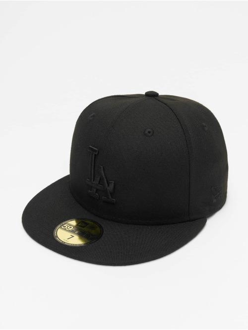 New Era Fitted Cap MLB LA Dodgers 59Fifty schwarz
