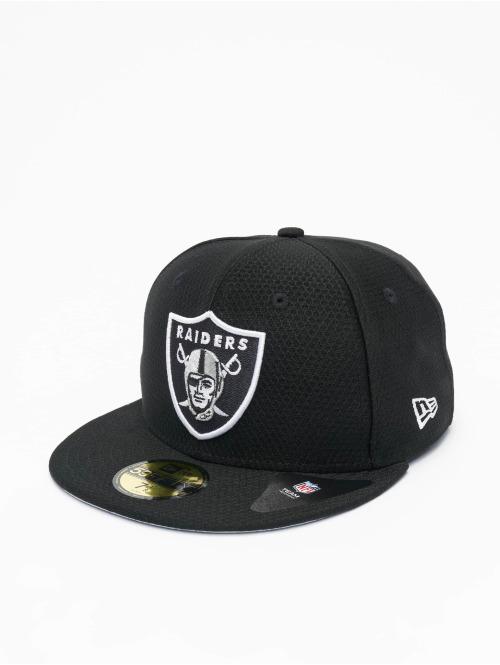 New Era Fitted Cap NFL Oakland Raiders Hex Era 59fifty schwarz