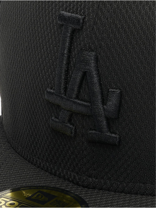 New Era Fitted Cap MLB LA Dodgers Diamond Era 59Fifty schwarz