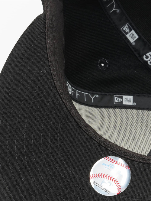 New Era Fitted Cap MLB LA Dodgers League Essential schwarz