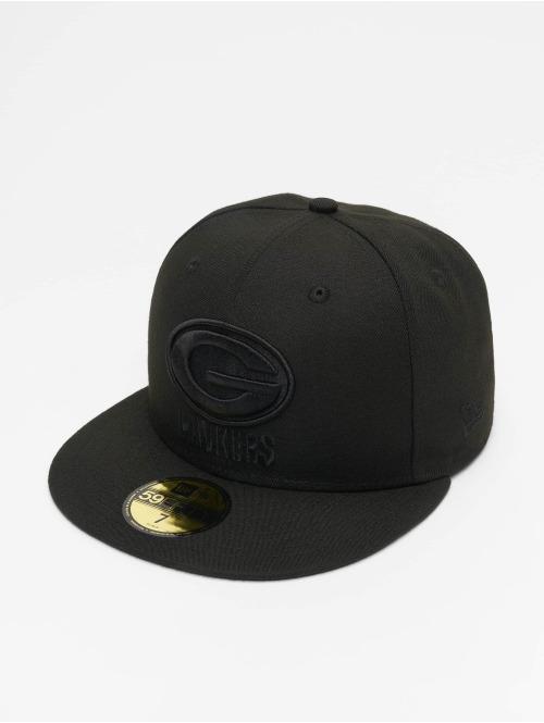 New Era Fitted Cap NFL Green Bay Packers 59Fifty zwart