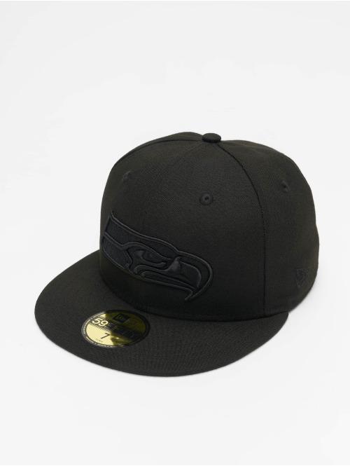New Era Fitted Cap NFL Seattle Seahawks 59Fifty zwart