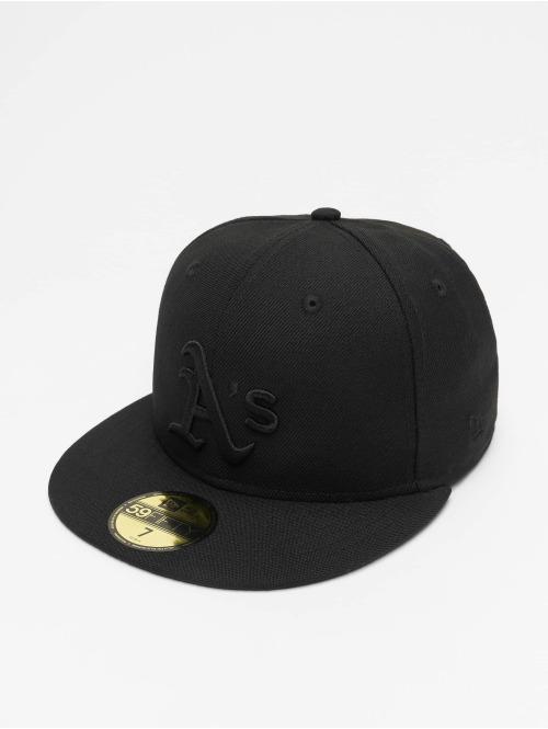 New Era Fitted Cap MLB Oakland Athletics 59Fifty zwart