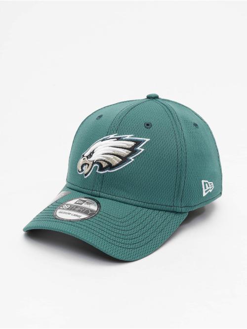 New Era Flexfitted Cap NFL Philadelphia Eagles Onfield Road 39Thirty grün