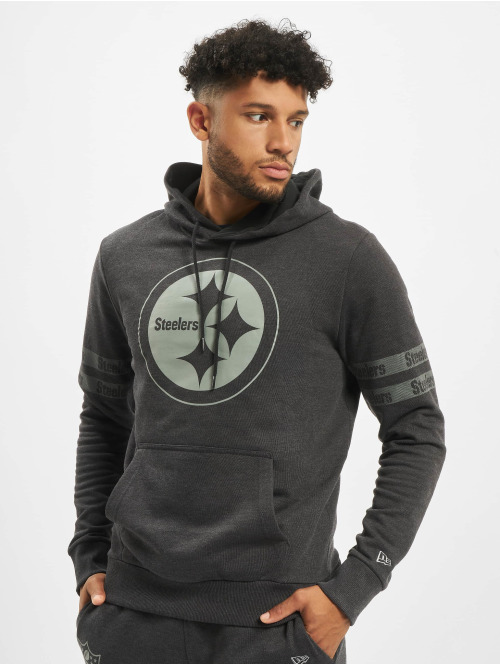 New Era Hoody NFL Pittsburgh Steelers Tonal schwarz