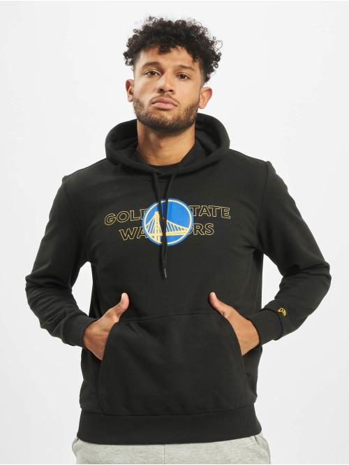 New Era Hoody NBA Golden State Warriors Graphic Overlap schwarz