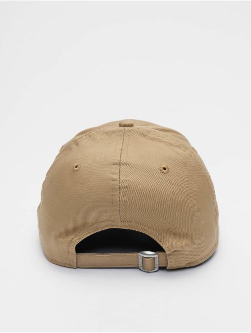 New Era Snapback Cap MLB Los Angeles Dodgers League Essential 9forty beige