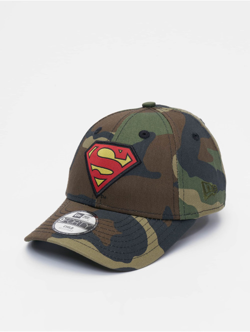 New Era Snapback Cap Character Superman 9Forty camouflage