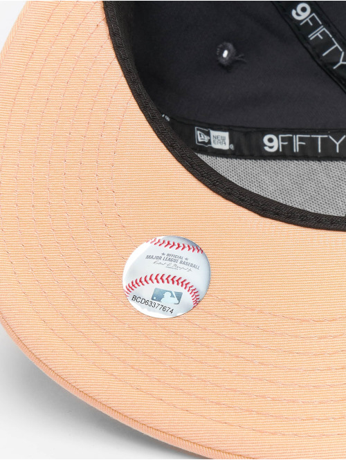 New Era Snapback Cap MLB New York Yankees League Essential 9fifty grau