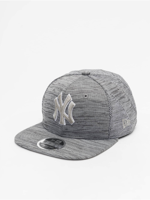 New Era Snapback Cap MLB NY Yankees Engineered Fit 9Fifty grau