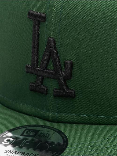 New Era Snapback Cap MLB LA Dodgers League Essential 9Fifty grün