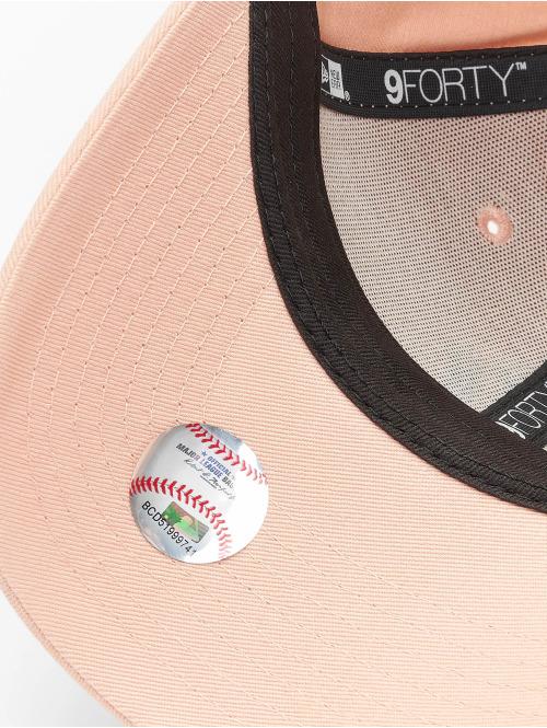 New Era Snapback Cap MLB NY Yankees 9Forty League rosa
