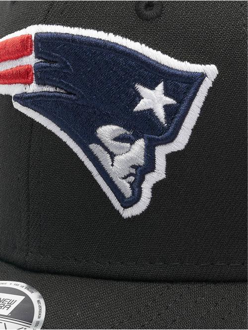 New Era Snapback Cap NFL Stretch Snap New England Patriots 9fifty schwarz