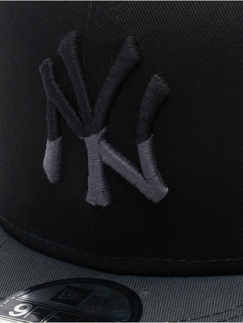 New Era Snapback Cap MLB Camo Essential NY Yankees 9Fifty schwarz