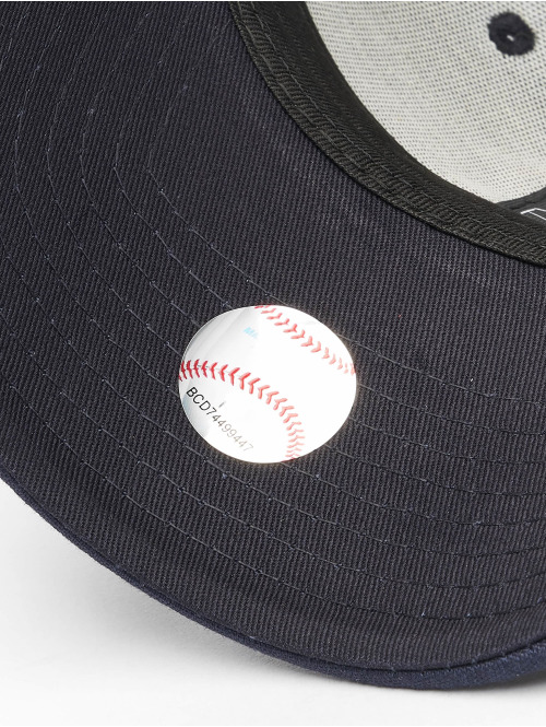New Era Snapback Cap MLB Boston Red Sox Chambray League schwarz