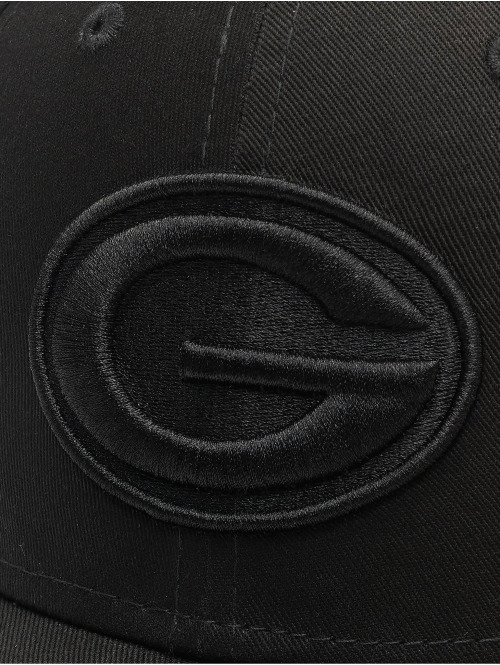 New Era Snapback Cap NFL Green Bay Packers schwarz