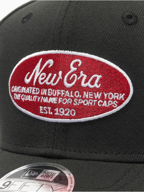 New Era Snapback Cap 9Fifty Oval Logo New Era Stretch schwarz