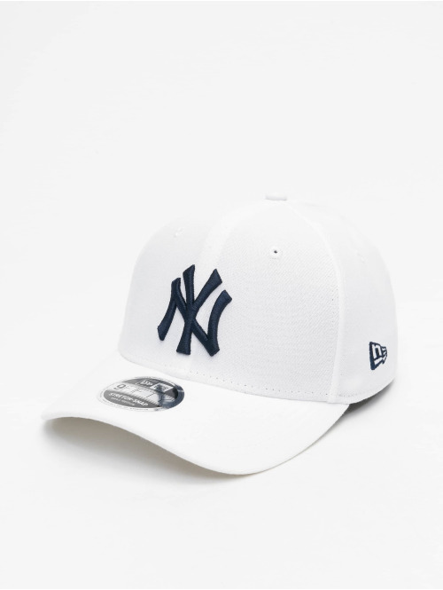 New Era Snapback Cap MLB NY Yankees White Base 9Fifty Stretch weiß
