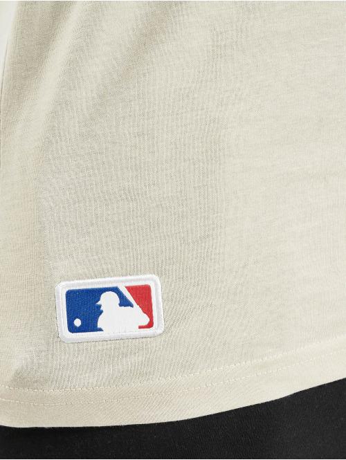 New Era T-Shirt MLB NY Yankees Seasonal Team Logo beige