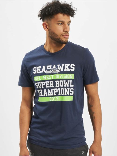 New Era T-Shirt NFL Seattle Seahawks Large Graphic blau
