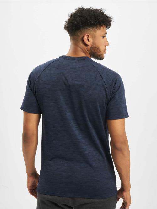 New Era T-Shirt NFL New England Patriots Engineered Raglan blau
