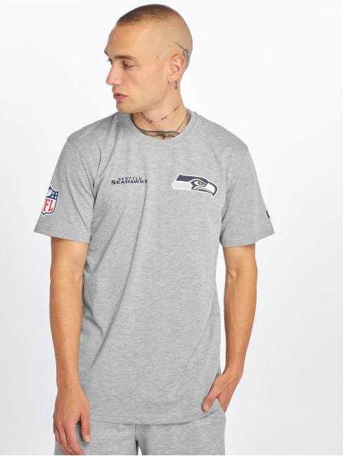 New Era T-Shirt NFL Seattle Seahawks Established Number grau