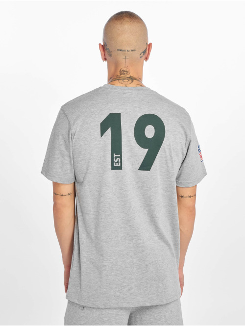 New Era T-Shirt NFL Green Bay Packers Established Number grau