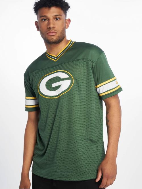 New Era T-Shirt NFL Team Logo Oversized Greenbay Packers grün