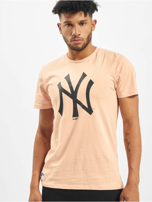 New Era T-Shirt MLB NY Yankees Seasonal Team Logo rosa