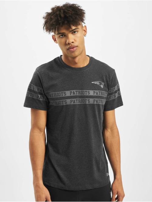 New Era T-Shirt NFL New England Patriots Tonal Black schwarz