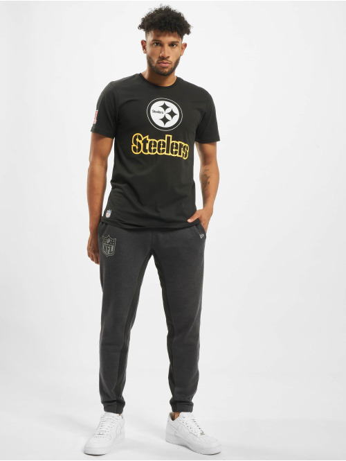 New Era T-Shirt NFL Pittsburgh Steelers Fan schwarz