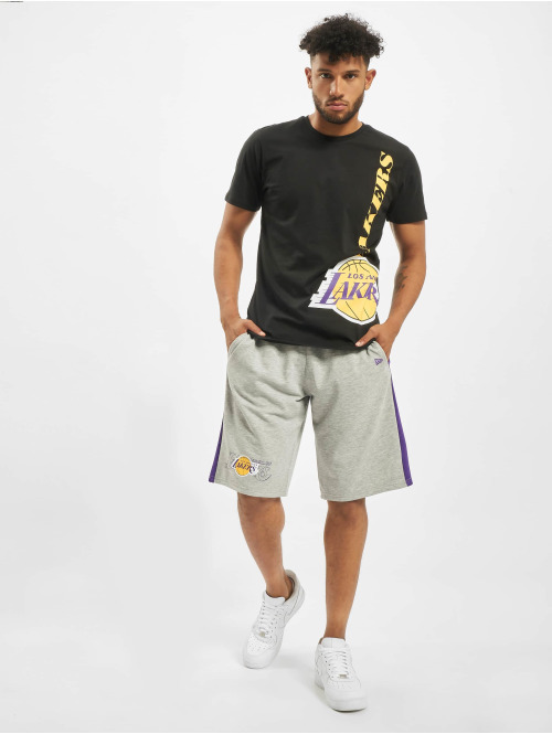 New Era T-Shirt NBA LA Lakers Team schwarz