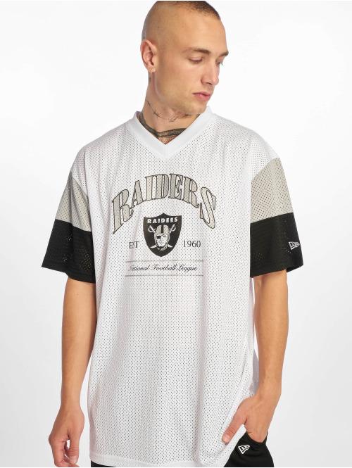 New Era T-Shirt NFL Oakland Raiders Established weiß