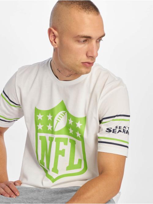 New Era T-Shirt NFL Seattle Seahawks Badge weiß