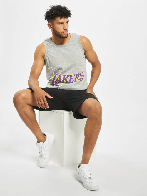 New Era Tank Tops NBA LA Lakers Basketball Graphic grau