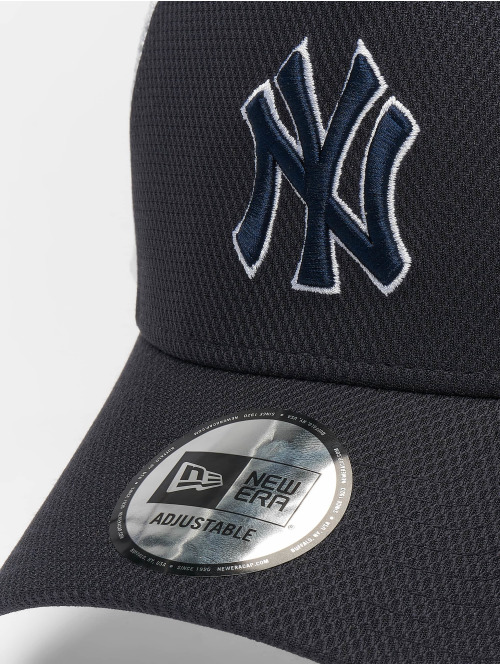 New Era Trucker Cap MLB NY Yankees Diamond Era 9forty A-Frame blau