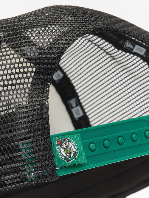 New Era Trucker Cap NBA Boston Celtics Retro Pack 9Forty AF grün