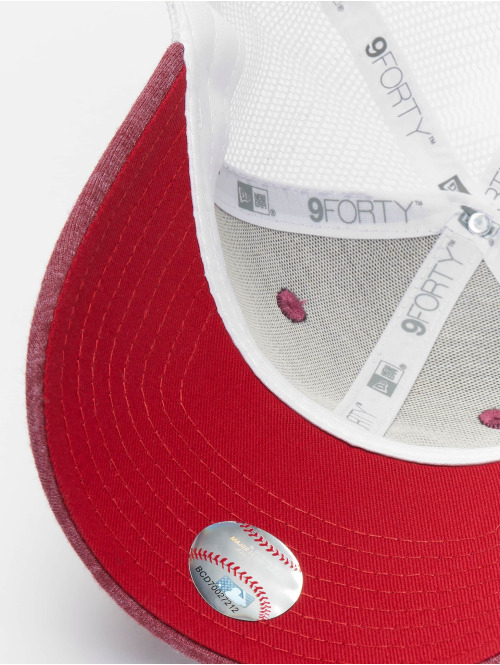 New Era Trucker Cap MLB Boston Red Sox Summer League 9forty rot