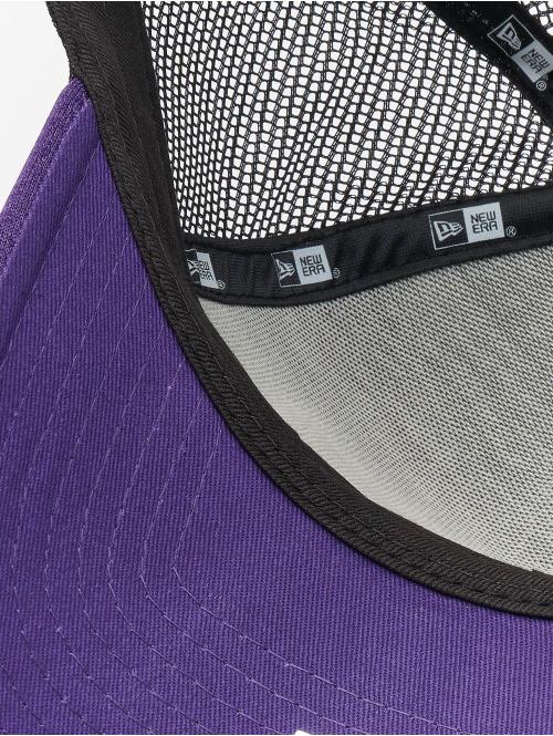 New Era Trucker Cap NBA LA Lakers Shadow Tech 9forty A-Frame violet
