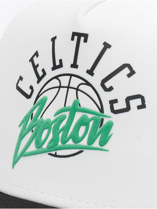 New Era Trucker Cap NBA Boston Celtics Neoprene 9forty A-Frame weiß