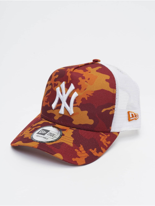 New Era Trucker Caps MLB New York Yankees Camo 9forty A-Frame camouflage