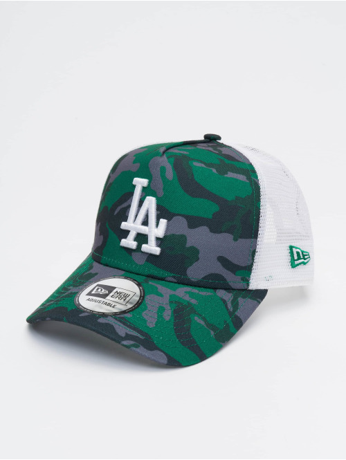 New Era Trucker Caps MLB Los Angeles Dodgers Camo 9forty A-Frame camouflage