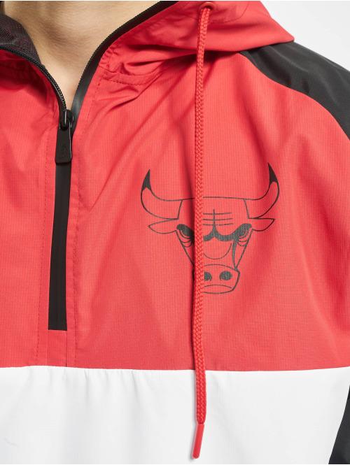 New Era Übergangsjacke NBA Chicago Bulls weiß
