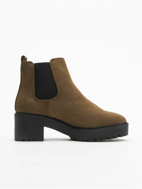 New Look Boots Cagey 2 SDT Low Chunky khaki