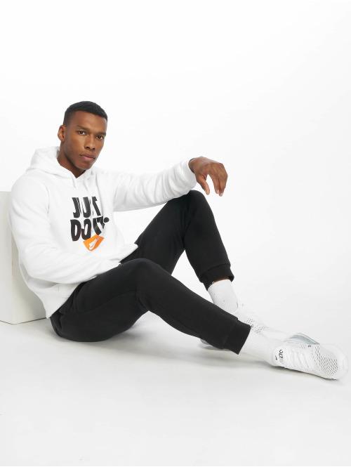 Nike Hoody JDI PO Fleece weiß